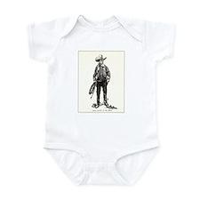 1920s Movie Cowboy Infant Bodysuit