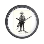 1920s Movie Cowboy Wall Clock