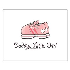 Pink Running Shoes Small Poster