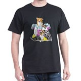 Corgi Tub full T-Shirt