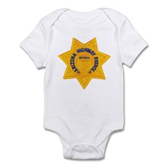 Arizona Highway Patrol Infant Bodysuit