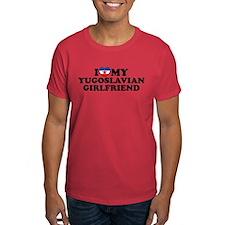 I Love My Yugoslavian Girlfriend T-Shirt