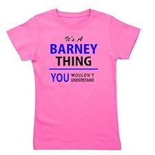Unique Barney Girl's Tee