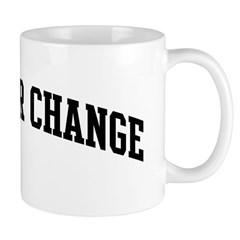 Obama for Change (sport-black Mug