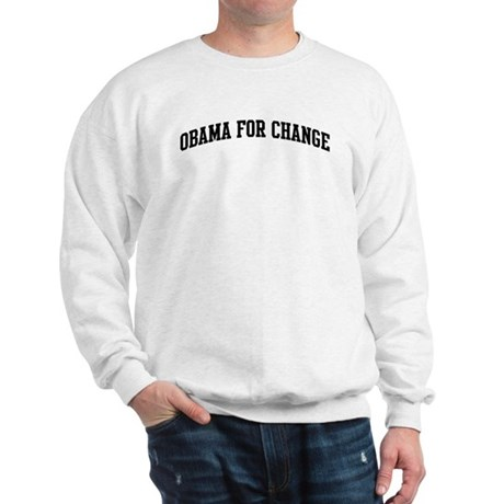 Obama for Change (sport-black Sweatshirt