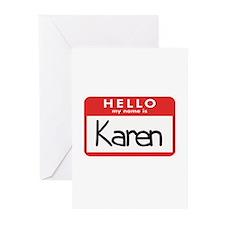Hello Karen Greeting Cards (Pk of 10)