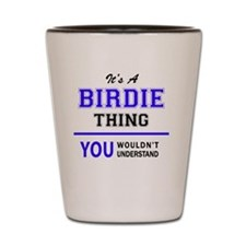 Cute Birdie Shot Glass