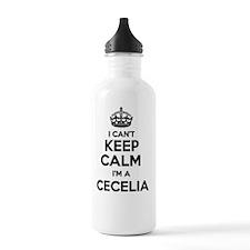 Cute Cecelia Water Bottle