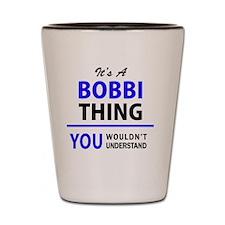 Cool Bobby Shot Glass