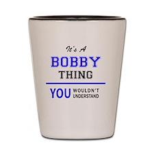 Unique Bobby Shot Glass