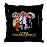 Los Compadres Throw Pillow