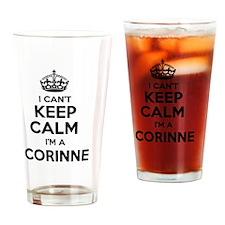 Cool Corinne Drinking Glass