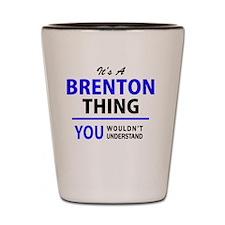 Unique Brenton Shot Glass