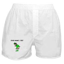 Custom Leprechaun Mooning Boxer Shorts