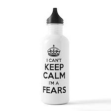 Cute Calm fear Water Bottle