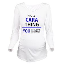 Cool Cara Long Sleeve Maternity T-Shirt
