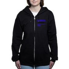 Funny Carissa Women's Zip Hoodie