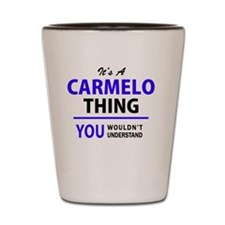 Cute Carmelo Shot Glass