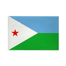 Djibouti Flag Rectangle Magnet