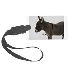 Miniature Donkey III Luggage Tag