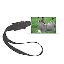 Miniature Donkey Luggage Tag