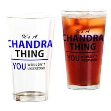Funny Chandra Drinking Glass