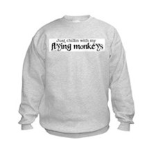 Unique Wizard of oz flying monkeys Sweatshirt