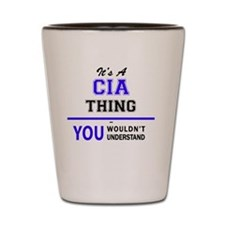 Cute Cia Shot Glass