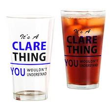 Unique Clare Drinking Glass