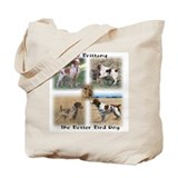 The Brittany The Better Bird Dog Tote Bag