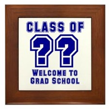 """Class of ?? Welcome..."" Framed Tile"