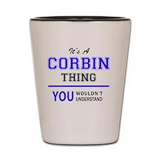 Corbin Shot Glass