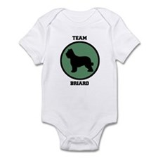 Team  Briard (green) Infant Bodysuit