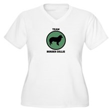 Team  Border Collie (green) T-Shirt