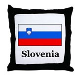 Slovenian Heritage Slovenia Throw Pillow