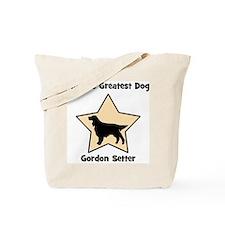Worlds Greatest Gordon Setter Tote Bag