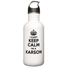 Cute Karson Water Bottle