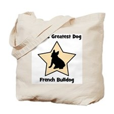 Worlds Greatest French Bulldo Tote Bag