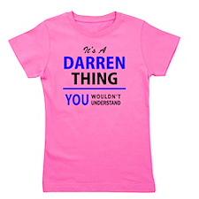 Unique Darren Girl's Tee