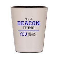 Cute Deacon Shot Glass