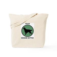 Team  Gordon Setter (green) Tote Bag