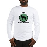 Team Italian Greyhound (green Long Sleeve T-Shirt