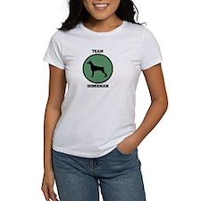 Team Doberman (green) Tee