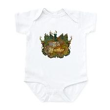 Elk hunter says you hunt elk! Infant Bodysuit