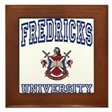 FREDRICKS University Framed Tile