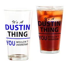 Unique Dustin Drinking Glass