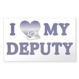 Love My Deputy Rectangle Decal