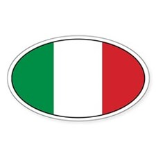 Italian Decals Oval Decal
