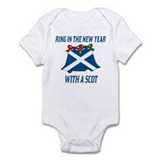 Scottish New Years Infant Bodysuit