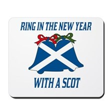Scottish New Years Mousepad
